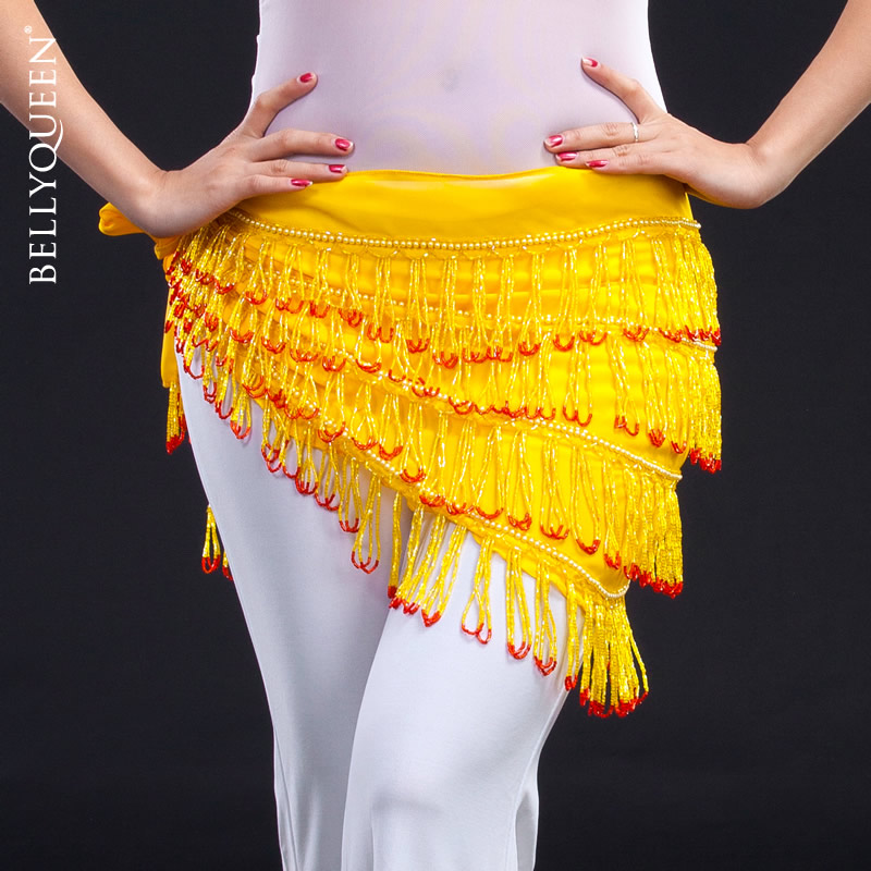 Dancewear Polyester Belly Dance Performance Hip Scarf For Ladies