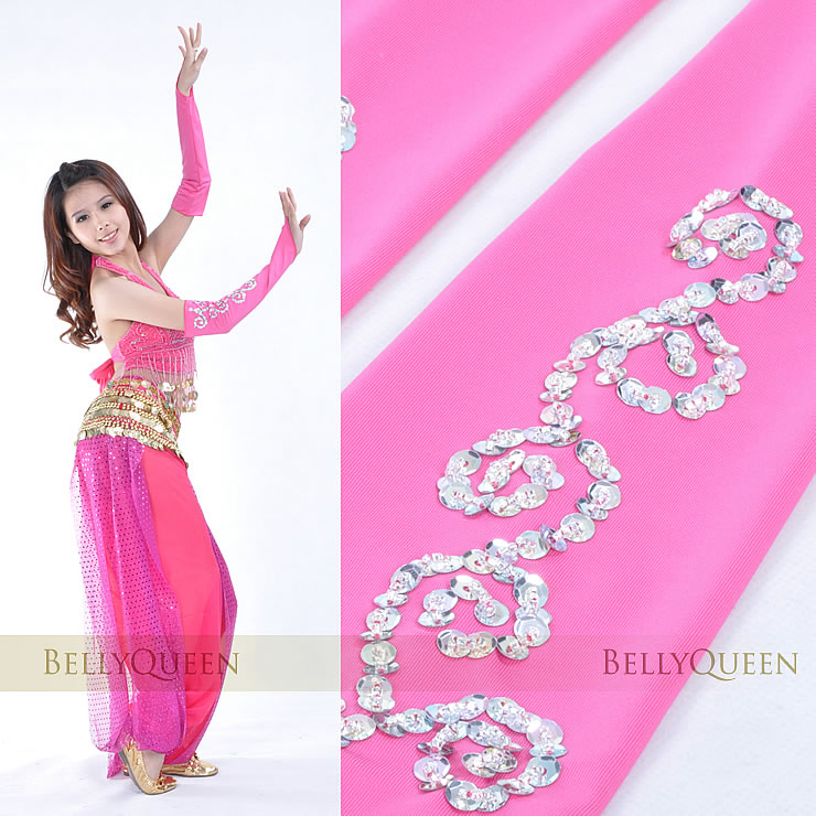 Dancewear Polyester Belly Dance Sleeves 2 pieces