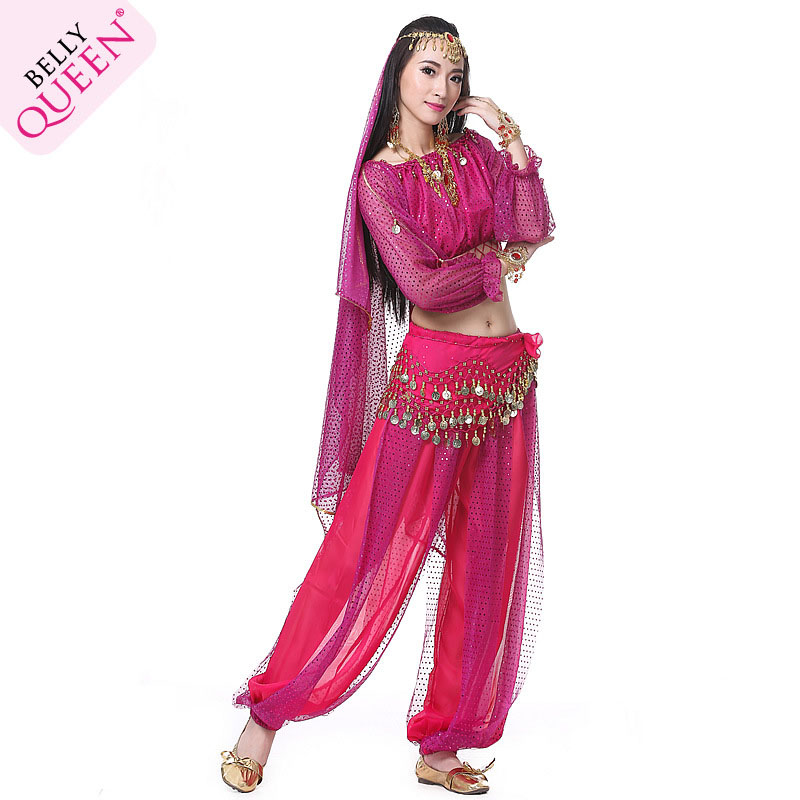 Dancewear Polyester Belly Dance Outfits For Ladies