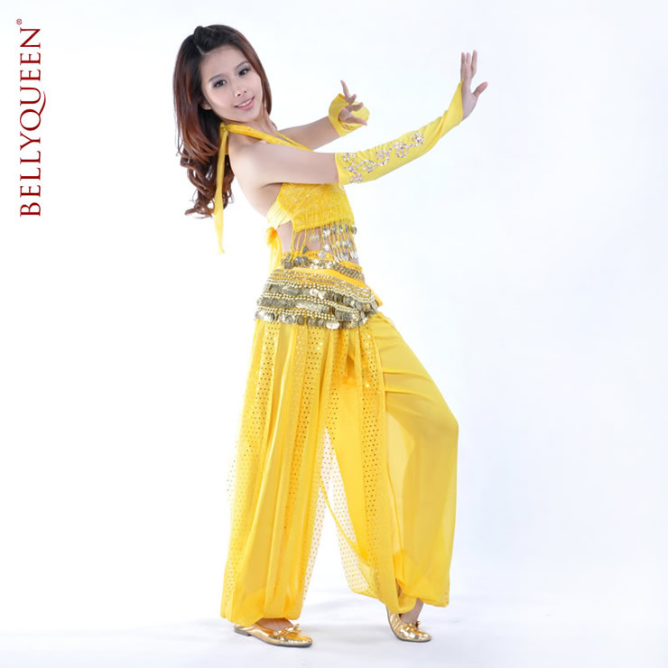 Dancewear Chiffon Belly Dance Pants More Colors