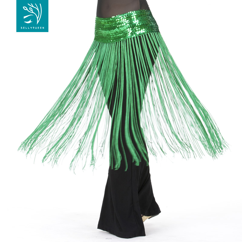 Dancewear Polyester Belly Dance Performance Hip Scarf With Tasse