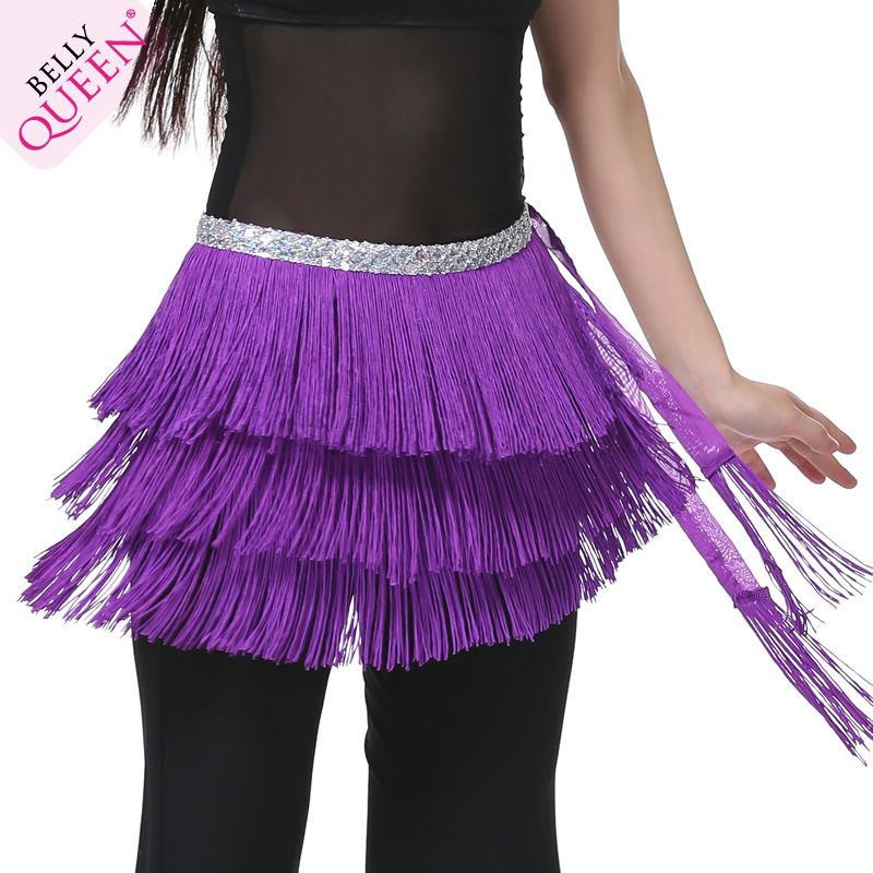 Dancewear Polyester Belly Dance Performance Hip Scarf