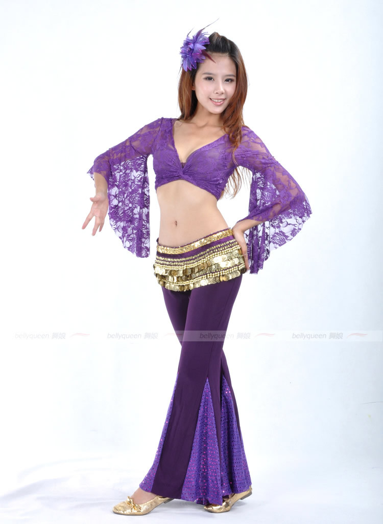 Dancewear Polyester Belly Dance Wear For Ladies