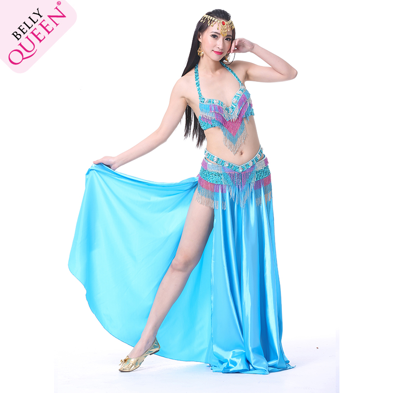 Performance Dancewear Polyester Belly Dance Costumes