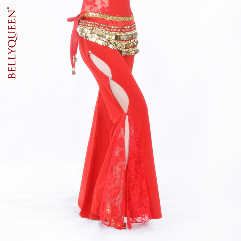 Dancewear Lace Belly Dance Pants For Ladies More Colors