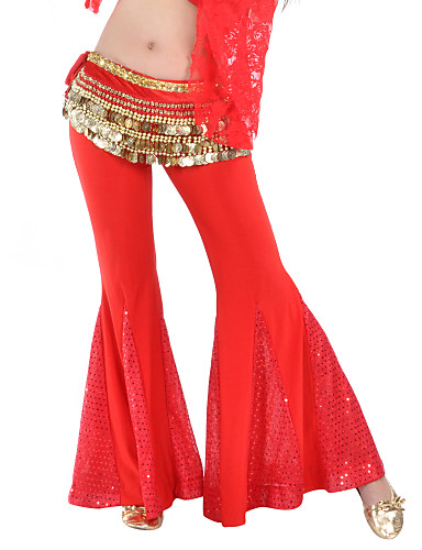 Dancewear Polyester Belly Dance Pants For Ladies More Colors