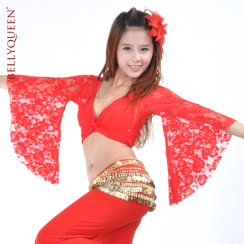 DanceWear Lace Belly Dance Tops 11 Colors
